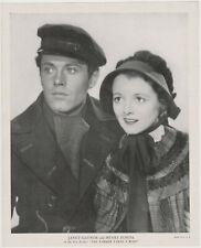 Janet Gaynor + Henry Fonda vintage 1935 R95 8x10 Linen Textured Printed Photo