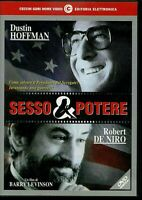 SESSO E POTERE (1997) un film di Barry Levinson DVD EX NOLEGGIO - CECCHI GORI