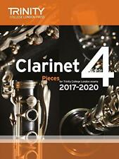 Clarinet Exam Pieces Grade 4 2017 2020 (Score & Part) by Trinity College Lond |