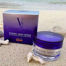 V2 REVOLUTION WONDER NIGHT REPAIR WHITENING FIRMING NIGHT CREAM 30 ML FREE SHIP!