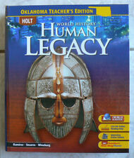 Holt World History-HUMAN LEGACY, Teachers Edition Ed.TE  2008 gr.9,10,11,12 NEW