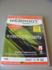 Webroot Secure Anywhere Unopened