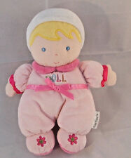 """Carters Pink My First Doll Blond Blue Eyes 8"""""""