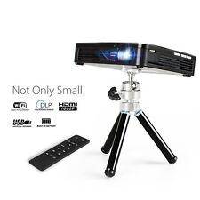 Mini Portable Projector LED-HD DLP smart Home Theater Cinema Movie Video - NEW