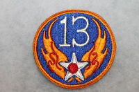 ORIGINAL WW2 13th U.S. ARMY AIR FORCE (AAF) UNIFORM PATCH