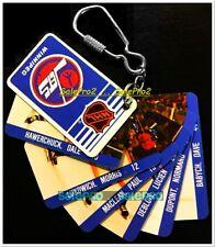 CANADA NHLPA COLLECTION 1983 WINNIPEG JETS NHL HOCKEY LIMITED KEYCHAIN CARD RARE