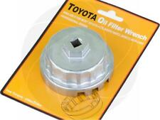Car Oil Filter Wrench 64.5mm Cap Socket 14 Flutes Aluminum for Toyota Lexus Tool