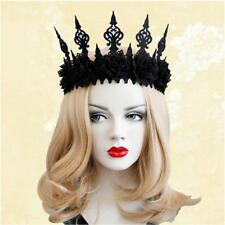 Gothic Garland Crown Style Headband Halloween Dacing Party Photography Hair Deco