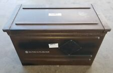 AMMO CAN 11X13.87X20.62 INCH MILITARY USED SURPLUS GOOD SEALS, COLOR: BROWN
