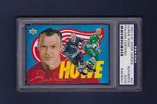 Gordie Howe signed Red Wings 1992 Upper Deck Heroes hockey card Psa/Dna
