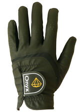 Brand New Onyx Golf Glove .... All Weather .... Mens Left Hand Small .... Black