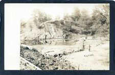 Private photo / postcard probably in the area of Madrid Iowa sent 1907