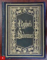Raphael's Madonnas 1860 Albumen photographic book original images fine leather