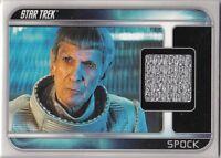 STAR TREK 2009 MOVIE CC6 LEONARD NIMOY SPOCK COSTUME CARD PIECE WORN IN FILM