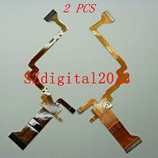 2PCS/ NEW LCD Flex Cable For JVC GZ-HD10AC GZ-HD30AC GZ-HD40AC HD10 HD30 HD40