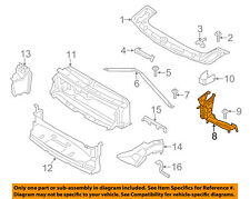 BMW OEM 12-16 328i Radiator Core Support-Outer Support Right 51647245792