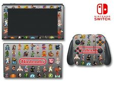Video Game Classic Retro Characters NES Game Decal Skin for Nintendo Switch