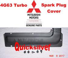 95 99 Mitsubishi Eclipse Eagle Talon 4g63 Turbo Spark Plug Cover & Bolts NEW OEM