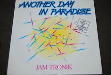"JAM TRONIK ""Another Day In Paradise"" 12"" MAXI VINYL / DEBUT - DEBTX3093 / 1989"