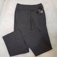 Tracy Evans Limited Womens Dress Pants Stretch Sz 3 Patterned Gray Formal D6