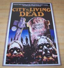 City of the Living Dead (The Gates of Hell)11X17 Movie Poster Original Version