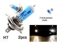 x2 Bombillas H7 100w/12v, halogenas, luz blanca, caja original, H7 Halógenas