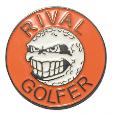 Rebellious Golf Ball Marker by Rival Golfer - Orange