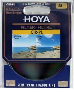HOYA 58mm Polarizing Circular CIR-PL CPL Filter for nikon Camera sony lens