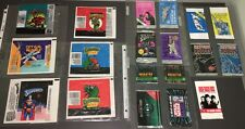 BIG VINTAGE WRAPPER LOT ~TURTLES+SUPERMAN+STAR WARS+DINO ATTACK+ALIENS+ODDS!