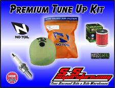2006-10 Kawasaki KX250F Tune Up Kit No Toil Air Filter HiFlo Oil NGK Spark Plug