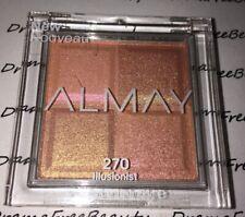 Almay Limited Edtn Shadow Squad Eyeshadow Quad 270 *ILLUSIONIST* Peachy Shimmers