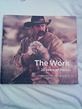 The Work: 25 Years of Fallon, HC/DJ, SIGNED by Pat Fallon and Bob Barrie