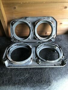Ford Capri mk3 Headlamp Mounting/Backing Plates....pair in good condition.