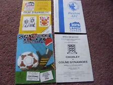 1986 Stalybridge Celtic v  Colne Dynamoes  League Cup