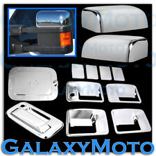 Ford Super Duty Chrome Top Mirror+4 Door Handle NO PSG KH+Tailgate+GAS Cover