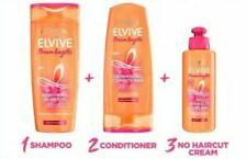 L'Oreal Elvive Dream Lengths Bundle Shampoo+Conditioner & No Hair Cut Cream