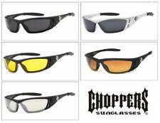 Choppers Anti-Reflective Motorcycle Riding Glasses Sunglasses Semi Rimless