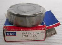 SKF 7304 BEGAP Angular Contact Ball Bearings 20x52x15mm