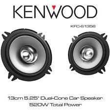 """Kenwood KFC-S1356 - 13cm 5.25"""" Dual Cone Speakers Door Speakers 520W Total Power"""