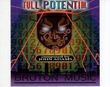 CD JOHN ADAMSfull potentialBRUTON MUSICVG++  (R1721)