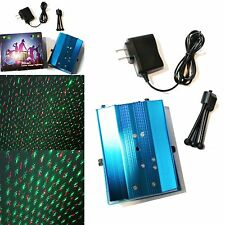 LED Mini Stage Laser Light Voice Control Projector Party Stage Bar Pub Club KTV