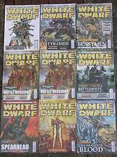 WHITE DWARF MAGAZINE MULTI-LISTING #360 - #369