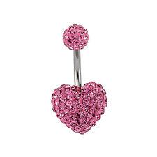 Modeschmuck-Ringe mit Kristall und Herz-Schliffform