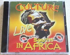CULTURE Live in South Africa CD SOUTH AFRICA Cat# REVCD253