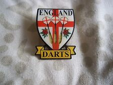12.EDO Fléchettes PIN pour l'Angleterre Edo le officiel Pin Badge
