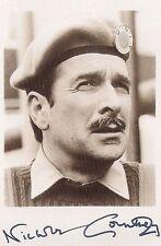 NICHOLAS COURTNEY DR WHO THE BRIGADIER AUTOGRAPH SIGNED 6 x 4 PRE PRINTED PHOTO