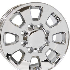 "18"" Wheels For Chevy Silverado GMC Sierra Savana Yukon Chrome Rims Set Of 4"