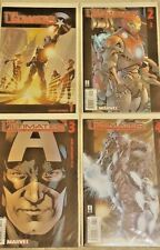 The Ultimates #1-4 Marvel Ultimate Comics Captain America Thor Iron Man