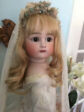Impressive Large Mystery Doll. Most Likely Kestner. What A Rare Beauty.