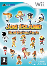 Job Island: Hard Working People [Wii] - COMPLETE = 50 mini games /vocations